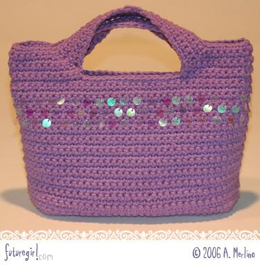 Crochet Purse Patterns Blog : futuregirl craft blog : starling handbag