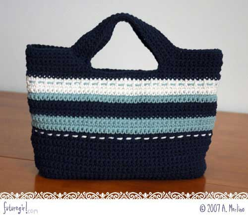 Crochet Lunch Bag Pattern Free Patterns For Crochet