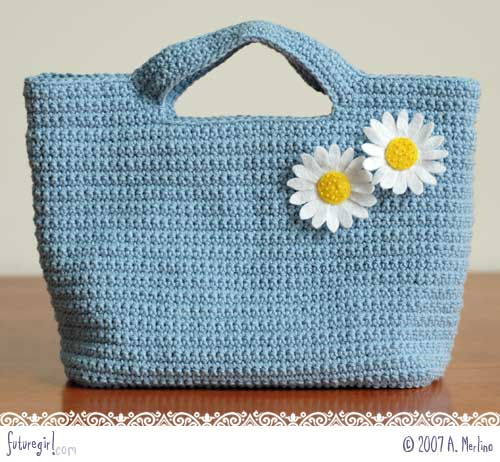Crochet Tote Bag Free Pattern : Crochet Bag Patterns: FREE Crochet bags with CrochetMe