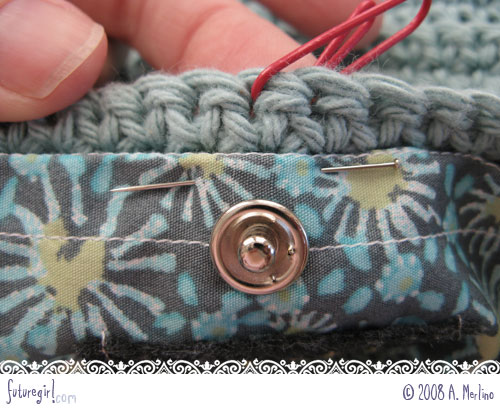 Futuregirl craft blog tutorial sew a lining into a for Borse in fettuccia tutorial