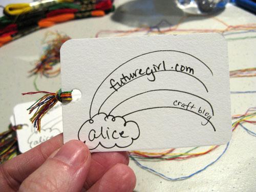 Diy business cards craft colourmoves