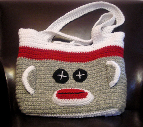 Shoregirls Creations Sock Monkey Bags