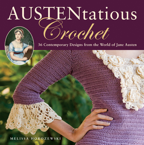 Free Crochet Books : ... craft blog : Book Review & Free Pattern - Austentatious Crochet