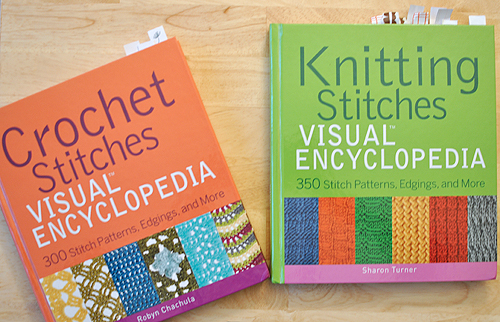 futuregirl craft blog : Review: Crochet & Knit Visual Encyclopedias