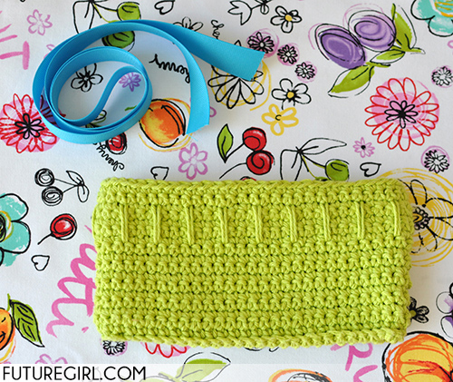 Futuregirl Craft Blog Tutorial Make A Ribbon Strap For The Lucky